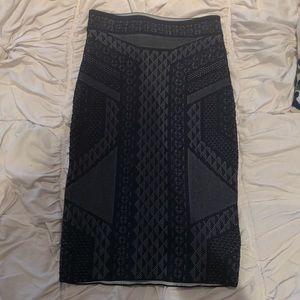 BCBG high waisted pencil skirt